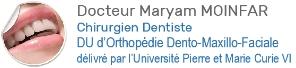 Dr Maryam Moinfar   Orthodontie   Saint Maur des Fossés Logo